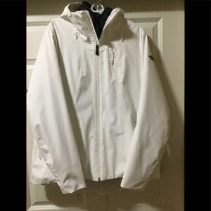 Northface 2 piece white xxl ski jacket